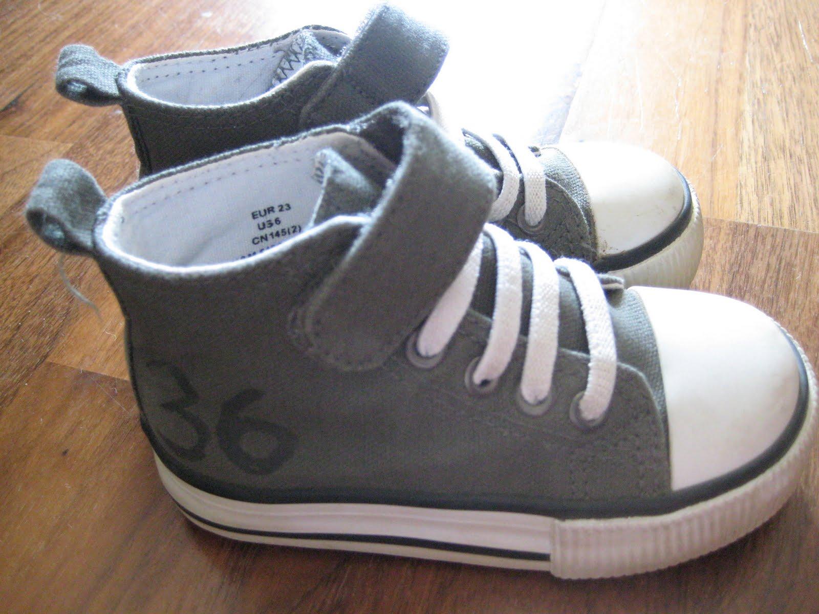 minkä ikäisellä kengän koko 23