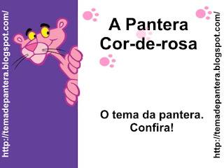 ... da lendária pantera cor de rosa pantera rósea grande abraço