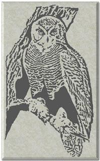 Free Scroll Saw Patterns By Arpop Snowy Owl Scrollsaw