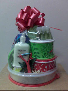 Gift Basket from Tupperware