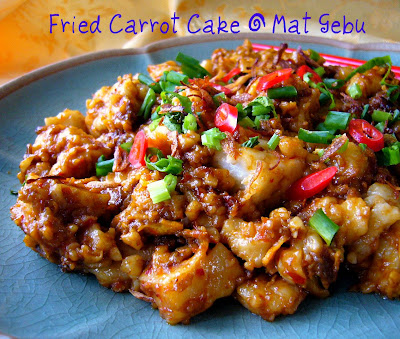 Fried Carrot Cake
