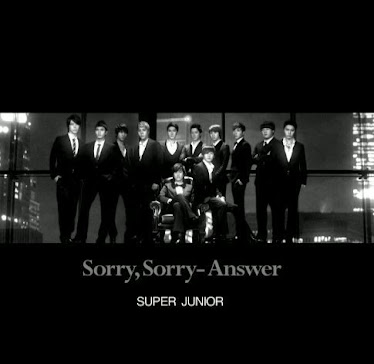 super junior(sorry sorry answer)