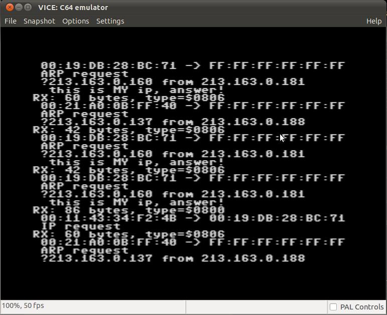 Ethernet on Commodore 64 | Digital Stuff