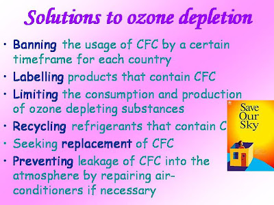 Little Geography Information: Ozone Layer Depletion