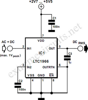 CIRCUIT: RMS to DC Converter