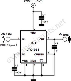 CIRCUIT: RMS to DC Converter