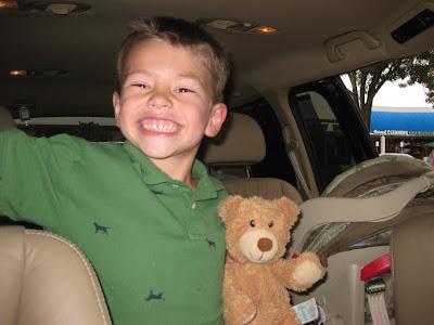 Taekwondo and monster trucks keep a busy boy happy