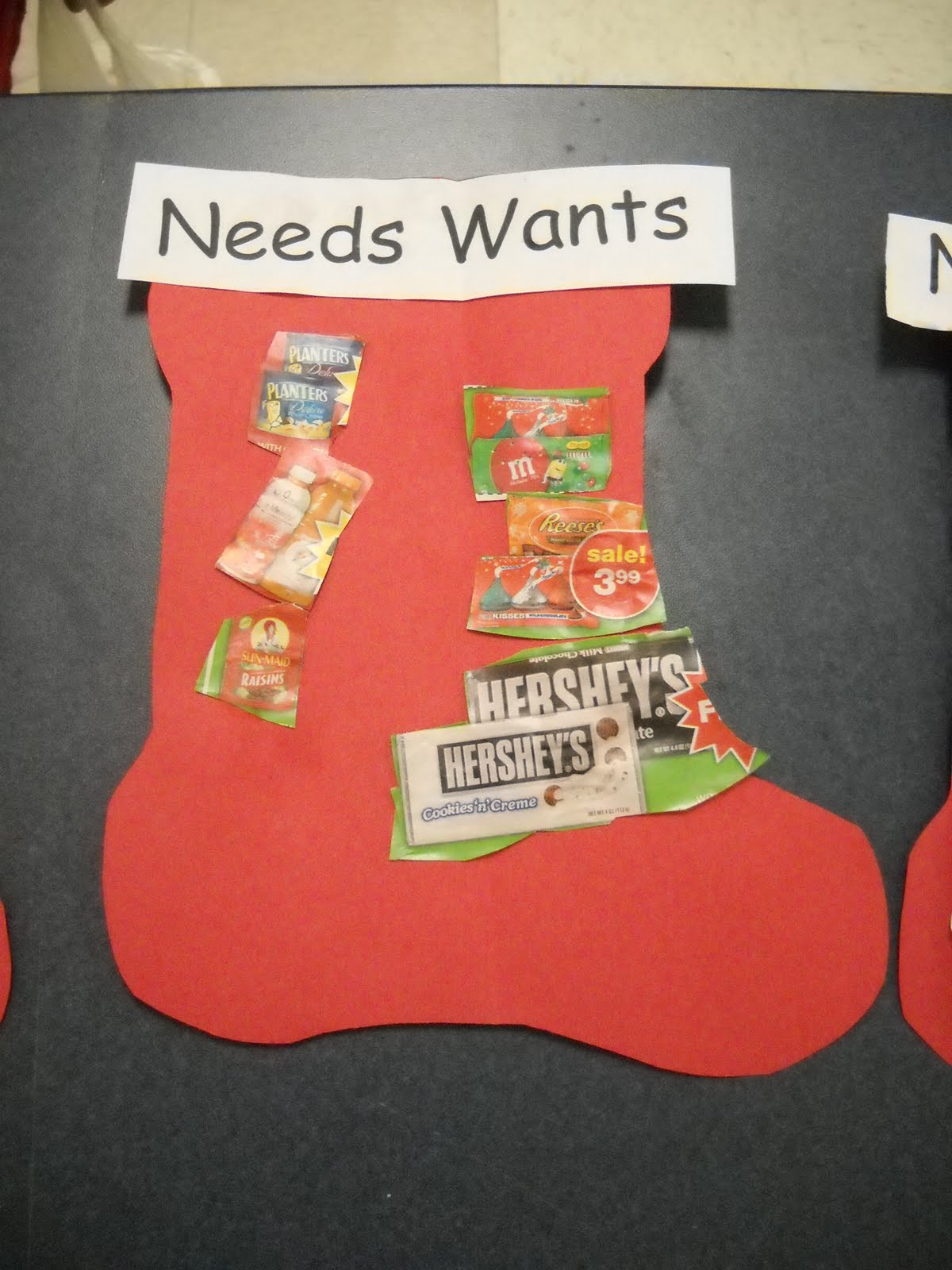 Mrs Wood S Kindergarten Class Needs And Wants
