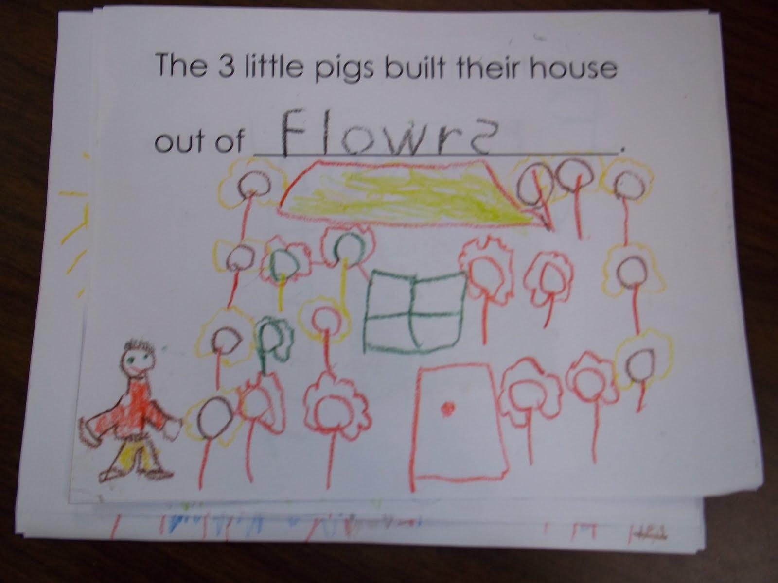 Mrs Wood S Kindergarten Class The Three Little Pigs