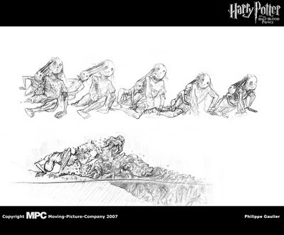 Philippe Gaulier Blog: Harry potter and the Half-Blood Prince