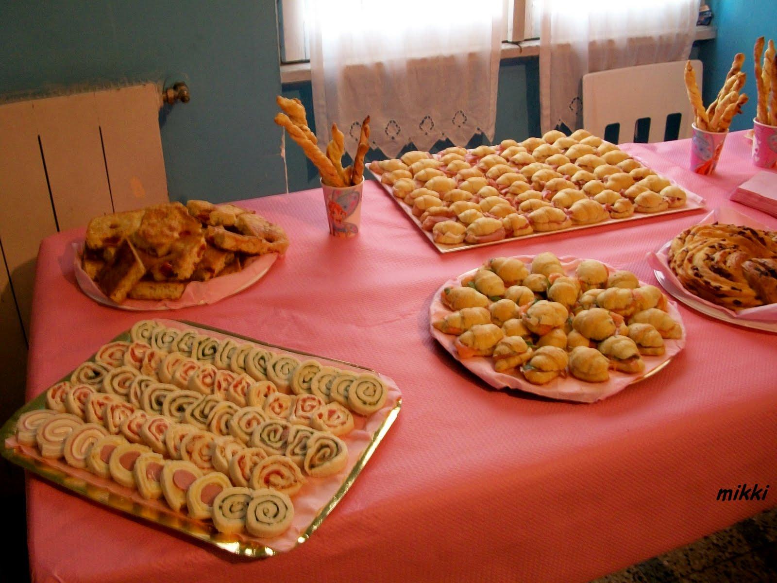 Favoloso profumi dalla cucina: Buffet compleanno Giorgia OY59