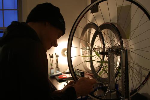 Wheel building