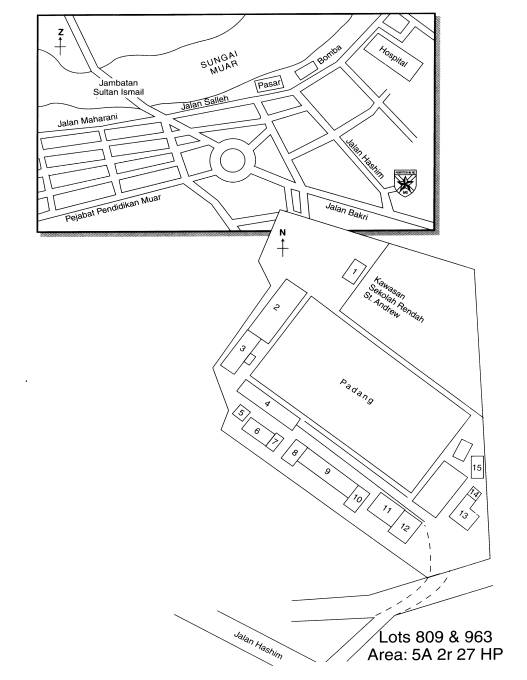 ST. ANDREW'S SCHOOL 蔴坡市聖安德魯男子学園- 梦幻中の学園: La Sallian