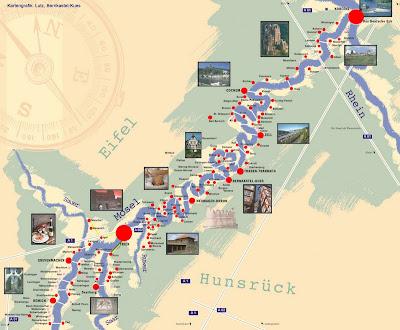 moseldalen kart tyskland L&S på tur: Sykkeltur i Moseldalen moseldalen kart tyskland