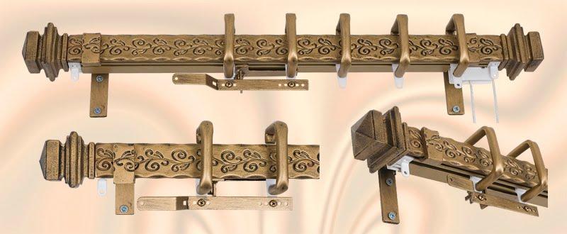 Decorative Drapery HardwareCustom Curtain RodsDrapery Finials Orion Presents New SleekFascia Traversing Rods