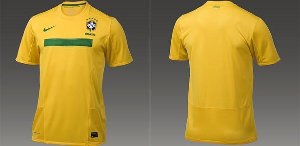 e9f03337f47cb Novas camisas do Brasil e da França. Novo uniforme ...