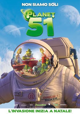 Planet 51 aus den Ilion Animation Studios