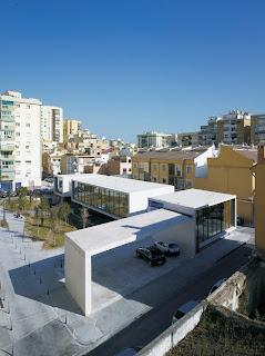 Biblioteca en Málaga. Arquitectura