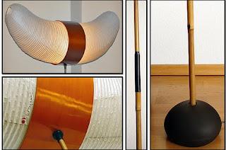 Lámparas Horn Akari. Isamu Noguchi.