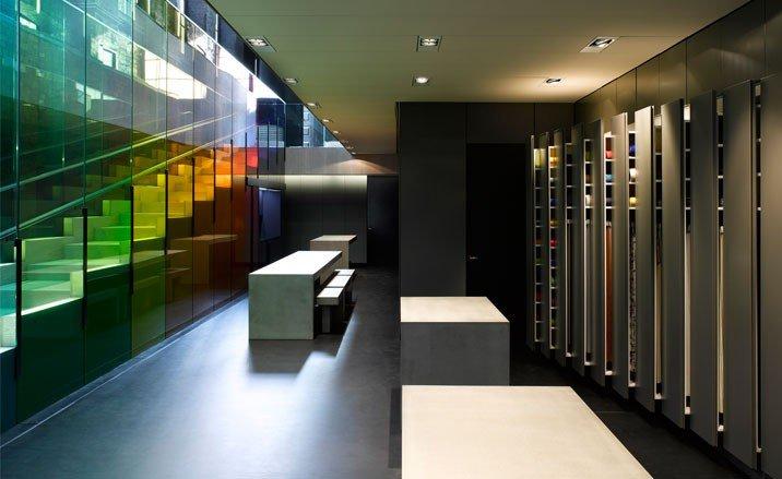 Tienda kvadrat en londres arquitectura y dise o los for Los mejores disenos de interiores