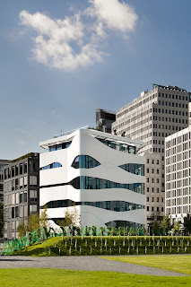 Arquitectura moderna, clínica en Berlín