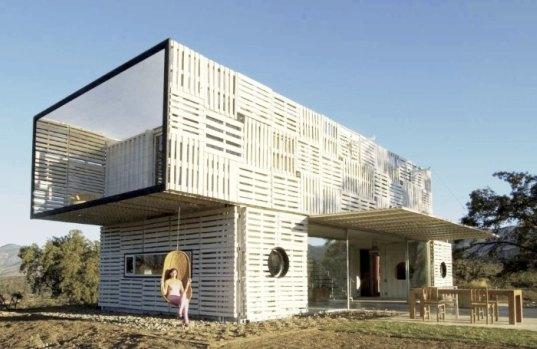 Casa Construida Con Contenedores Y Palets De Infinsky Blog Arquitectura Y Diseño Inspírate Con Nuestros Interiores Y Casas De Diseño