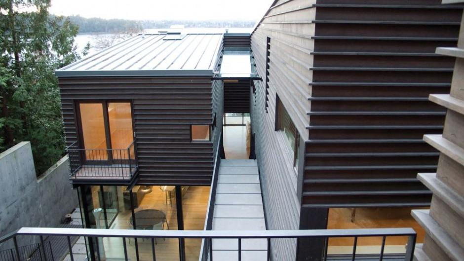 Casa de la colina de hutchison maul architect blog for Fachadas de casas para segunda planta