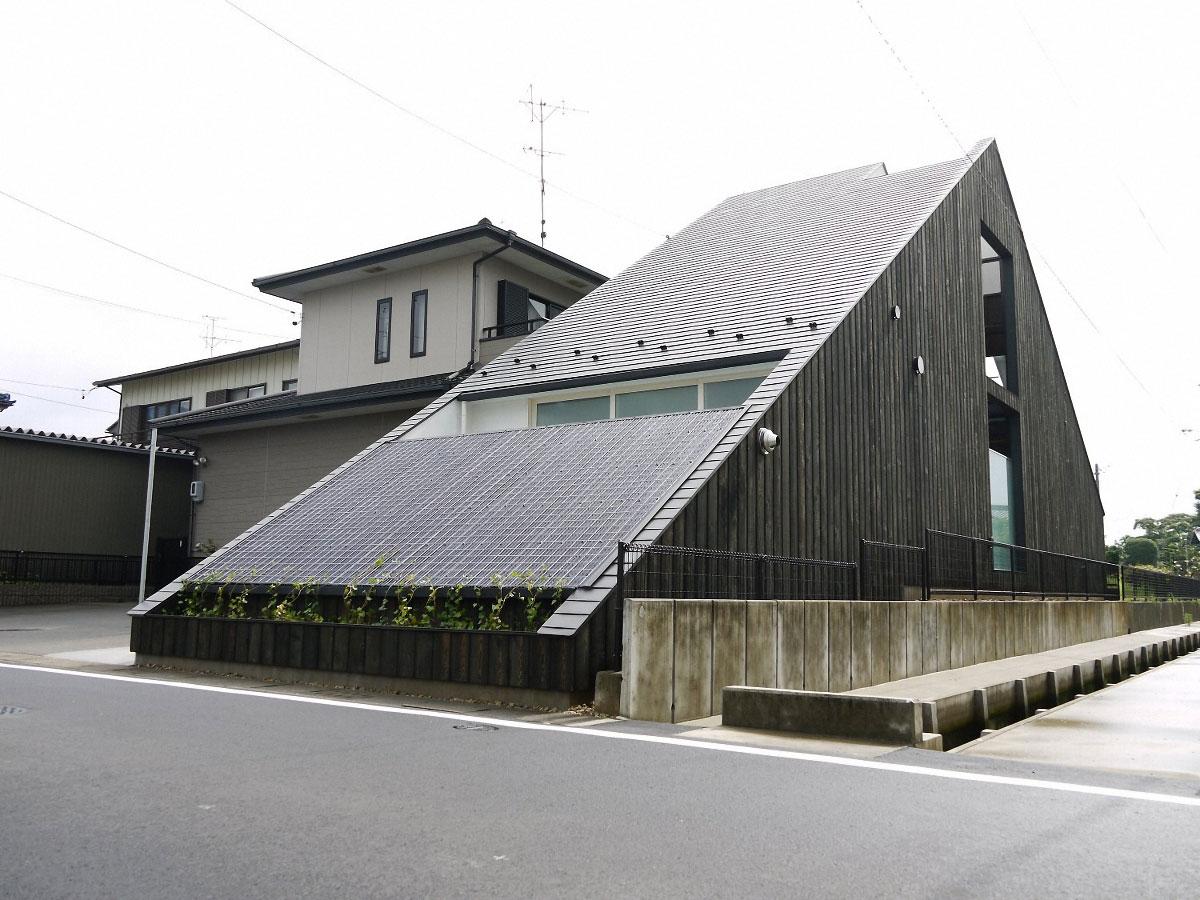 Ogaki house de katsutoshi sasaki arquitectura y dise o - Arquitectura y diseno de casas ...