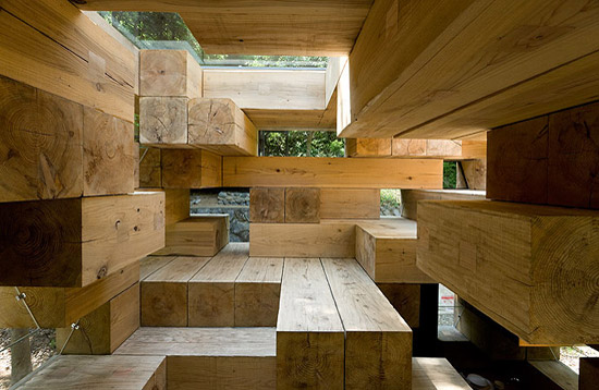 Microarquitectura la casa de madera definitiva de sou for La casa de madera