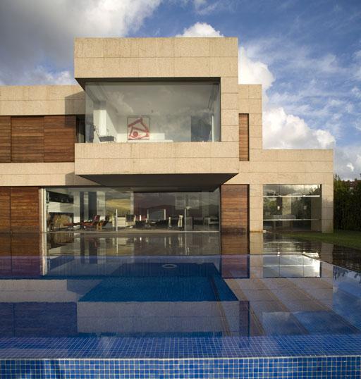 Casa unifamiliar en sanxenxo de a cero arquitectura y for Arquitectura y diseno de casas