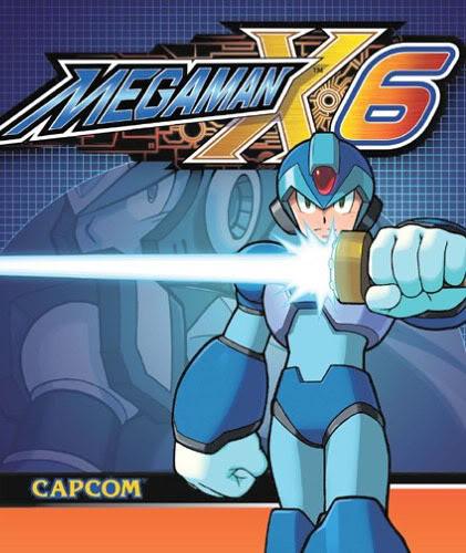 Mega Man X6 é o sexto jogo da franquia MEGAMAN X6 produzida pela