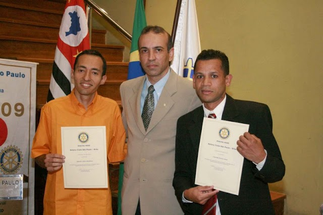 Homenagem do Rotary Club Brás