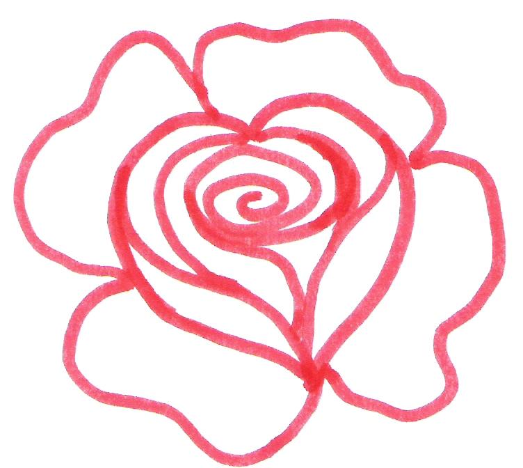 Du Four Au Jardin Et Mes Dix Doigts Coeur Rose