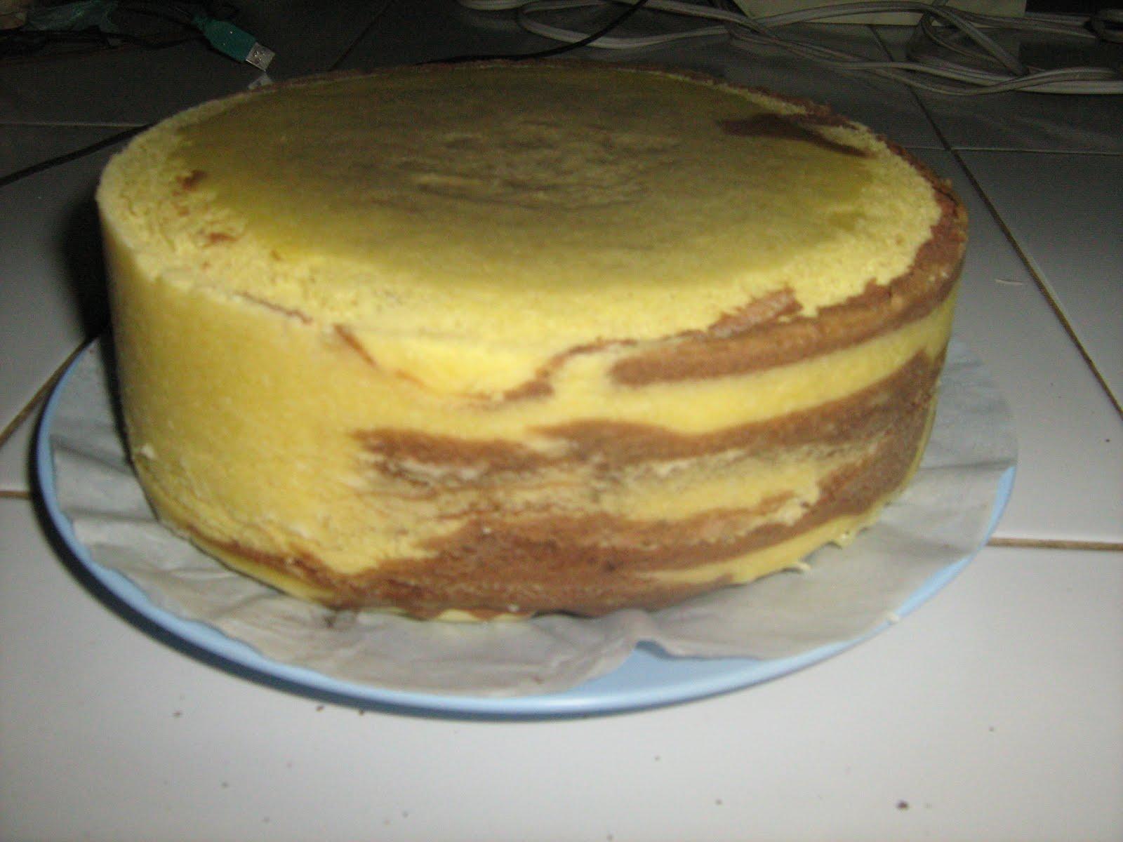Buku Resep Ocha Sponge Cake Kukus Pelangi