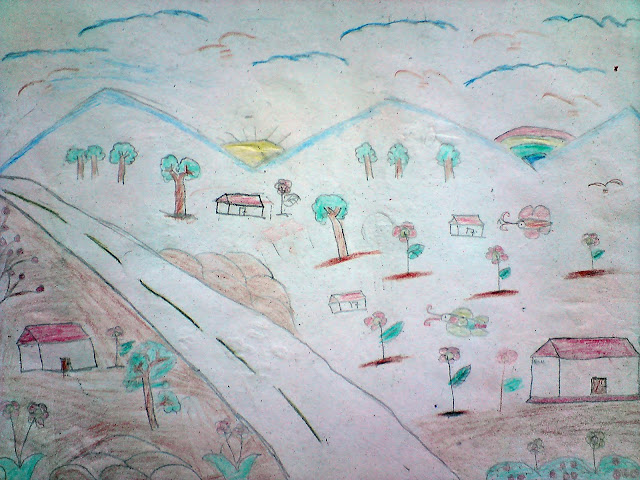 Gambar Pemandangan Gunung Untuk Anak Sd Kelas 4 ...