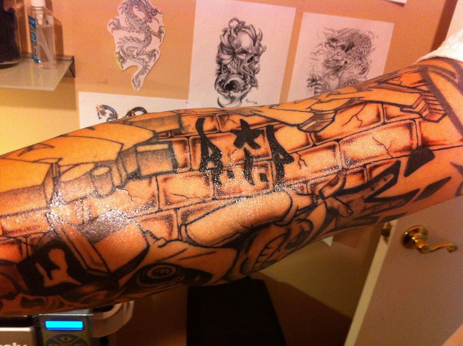 bab194a65fa3f 30 Fascinating Wall Tattoos   CreativeFan