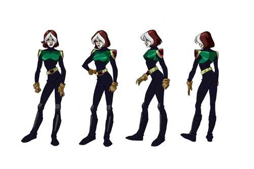 The Dork Review X Men Evolution Model Sheets