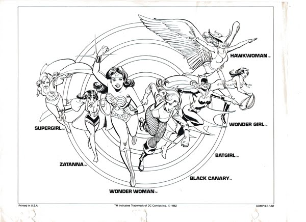 The Dork Review: DC Style Guide Part 1: Group Shots