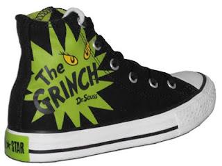 91a6c09b7de1 Shoes Trend  The Grinch Converse Chuck Taylors