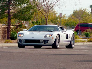 Ford GT supercar seen in Phoenix