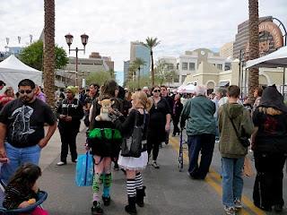 Crowds at Matsuri of Arizona
