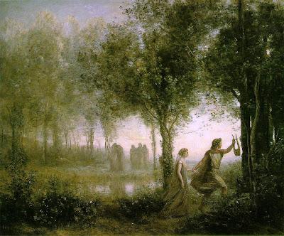 Resultado de imagen de Orfeo y Euridice