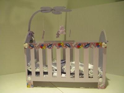 Ruelysicreativecards 100 Cricut 3d Crib Using