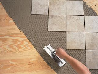Ceramic Floor Tile Installing Over Plywood