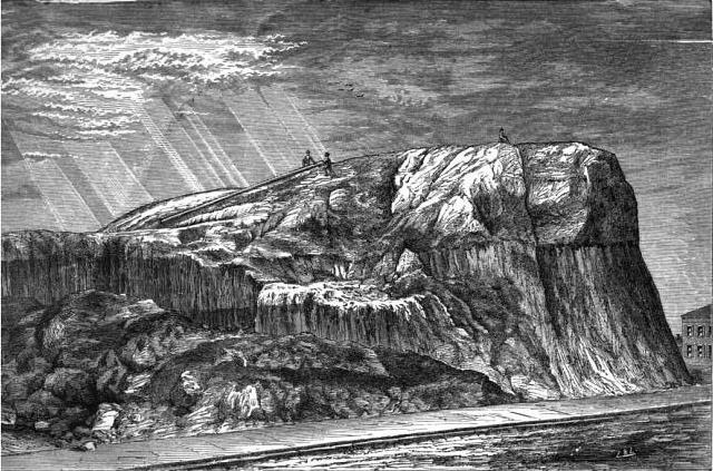 Saint Louis School >> bygone saint louis: The Big Mound, 1869
