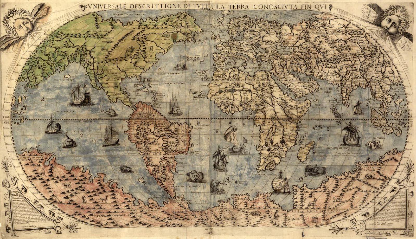Vintage World Maps 72