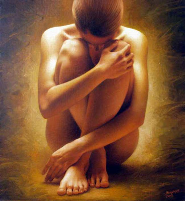 Alone Quotes Wallpaper Free Download Nude Woman Art Paintings Beautiful 2