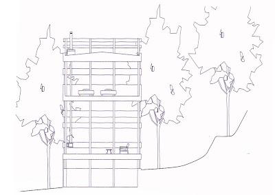 Studio UrbanArea: Tree Ring House