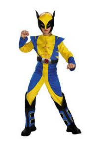 Click Here Boys Wolverine Halloween Costume Child The Deadliest Mutant In the Marvel  sc 1 th 279 & Buy-Wolverine-X-Men-Origins-Boys-Halloween-Costume