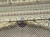 Intricate work Jama Masjid Tonk, Rajasthan, India